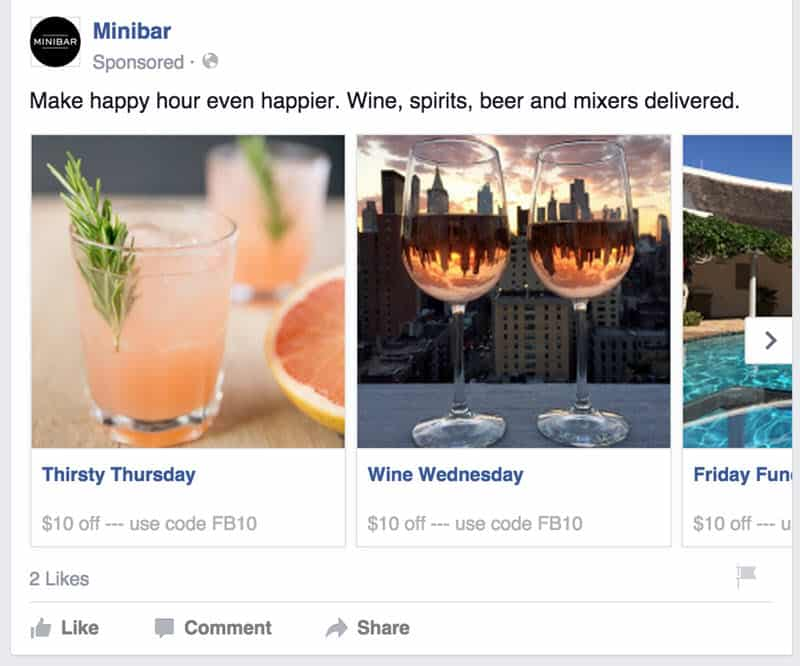 Facebook Ad Core Offer