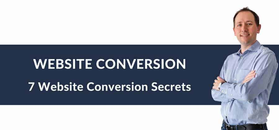 WEBSITE CONVERSION 7 Website Conversion Secrets
